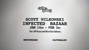 Scott Wilkowski's Infected Bazaar - Back wall