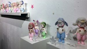 Satyr & Rory works from Seulgie's Starry Eyed exhibition