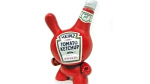 Sket One - Heinz Ketchup Dunny custom for SubCultures, 2006