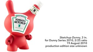 """Sket One Dunny - Sketchup 3"""" Dunny, Dunny Series 2010, 2010"""