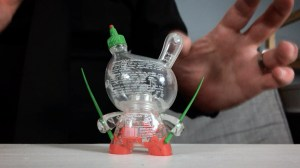 """Sket One Dunny - Sketracha 3"""" Dunny, Empty version - back detail"""