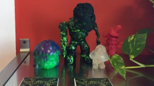 Splurrt's Decayed - Resin figures: Splug, The Executioner, The Bad Trip, and Hiya