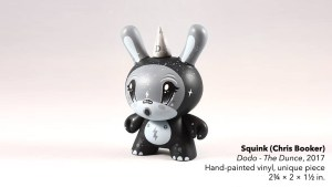 Squink's Dodo - The Dunce custom Dunny, 2017
