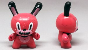 Squink's Bubblegum Bear from the Wild Ones Dunny series