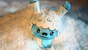 "Squink's Kono the Yeti 3"" Custom Dunny, 2010"