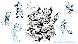 Stephanie Buscema's art for Disney