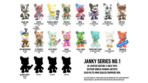 Ratio List of Superplastic's Janky Series No.1 pieces
