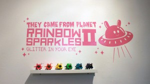 Clutter Magazine Gallery's They Came From Planet Rainbow Sparkles 2 overview
