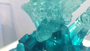 TaskOne's Emerald Simeon (Resin version of Ozomahtli by Jesse Hernandez & Bic Plastics)