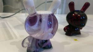 TaskOne's Grapescape Dunny (Resin version the Kidrobot figure)