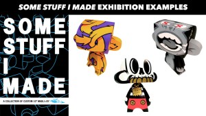 MAD (Jeremy Madl)'s Some Stuff I Made exhibition flyer