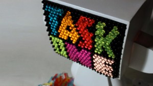 Task One's custom Lite-Brite MAD*L series for SDCC, 2010