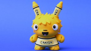 The Bots' Happy Yellow Fellow Custom Dunny, 2017