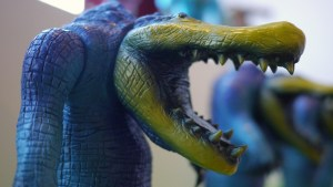 Rampage Toys' The Return of Rampage!! - Skeletal Crocodile Two-Toed Tom
