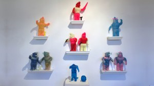 Rampage Toys' The Return of Rampage!! - Back Wall Display