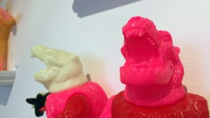 Rampage Toys' The Return of Rampage!! - Glow-in-the-dark, pink & red mixed parts Revenge Kesagake