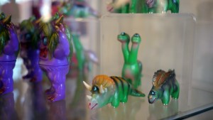 Rampage Toys' The Return of Rampage!! - Tiger Triceraclops, Stegiclops & Brontoclops