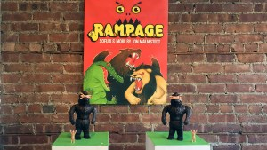 Rampage Toys' The Return of Rampage!! - Cold Cast Bronze Kesagake