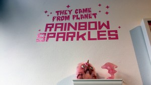 They Came From Planet Rainbow Sparkles - Display Detail