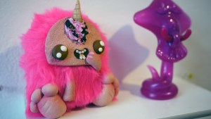 They Came From Planet Rainbow Sparkles - Miss Little Zombie's Din-Don