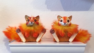 They Came From Planet Rainbow Sparkles - Magweno's Cheeky Cat 1 & 2