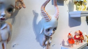 They Came From Planet Rainbow Sparkles - Erica Borghstijn's Antelope Girl