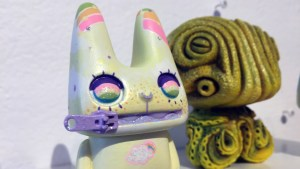 They Came From Planet Rainbow Sparkles - Eloise Kim's Cloud Zipper Rabbit