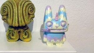 They Came From Planet Rainbow Sparkles - Eloise Kim's Melting Unicorn Zipper Rabbit