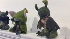 They Came From Planet Rainbow Sparkles - SweetSign's Greenheart Bat