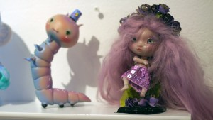 They Came From Planet Rainbow Sparkles - Louis Sophie / Nympheas Dolls' Luciole