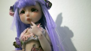They Came From Planet Rainbow Sparkles - Louis Sophie / Nympheas Dolls' Squirrel