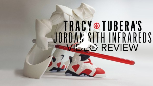 Tracy Tubera's Jordan Sith Infrareds