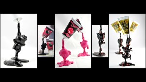 VISEone's Black Tube Kitty, Pink Tube Kitty, and The Black Soul of the Scavengers, 2011