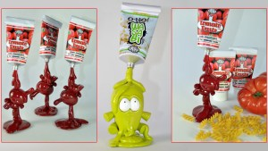 VISEone's Tomato Paste Dunny Series and O-No! Wasabi custom, 2012