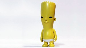 Yoskay Yamamoto's Bart Simpson from his Jokes On Me exhibition