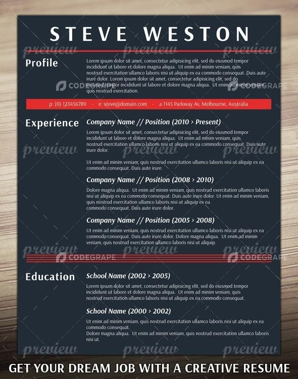 CV Original Print CodeGrape