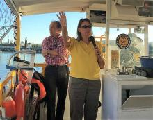 Planning Commissioner Kress leads Hillsborough River tour