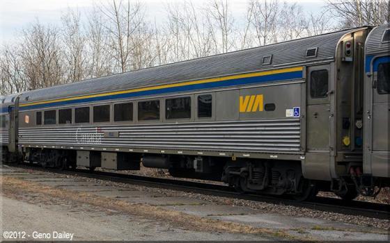 VIA HEP-2 Rail Car
