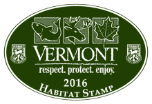 New Law Protects Vermont's Most Vulnerable Species. Use the habitat stamp