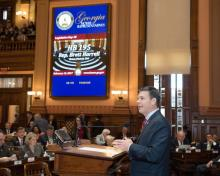 Rep. Harrell passes HB 195 in Georgia House