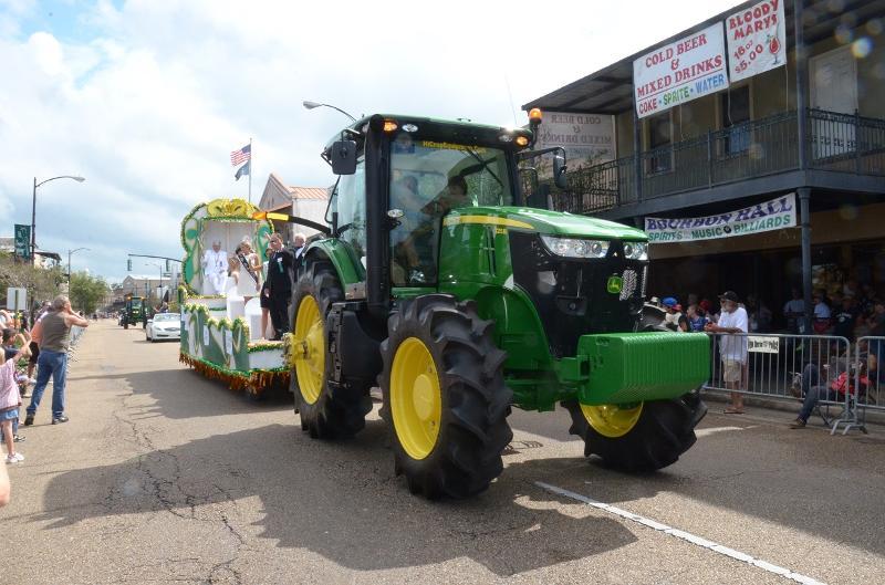 Sugar Cane Festival Parade Tractor