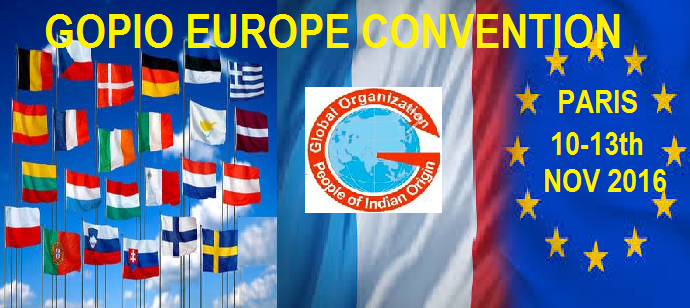 GOPIO EUROPEAN CONVENTION