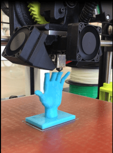 Both Creation Stations feature 3D printers that allow your imagination to become reality_