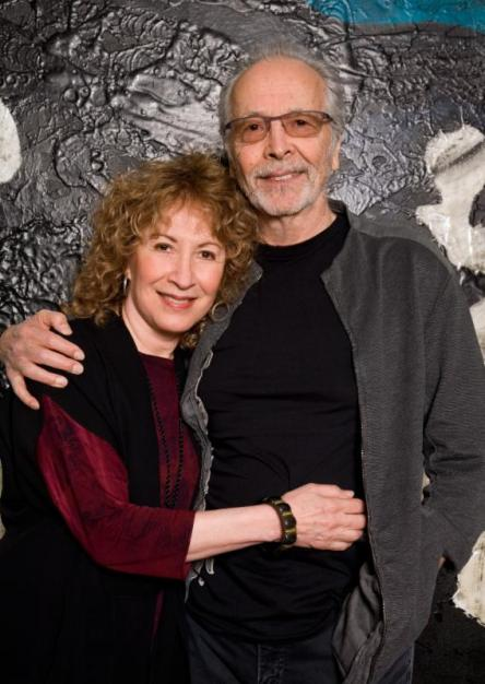 Photo by Francesco Da Vinci. Herb Alpert and Lani Hall at the Herb Alpert Award in the Arts annual lunch.