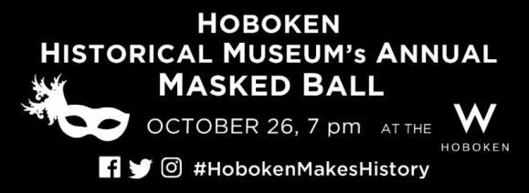 Hoboken's Masked Ball, Oct. 26