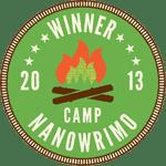 Camp NaNoWriMo 2013