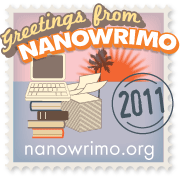 web badge for NaNo 2011
