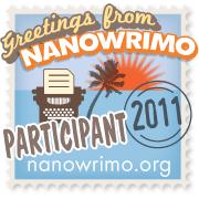 Werbebanner für den NaNoWriMo