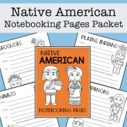Native American Tribes Report Packet
