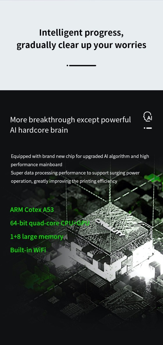 7960 Resin Printer Creality CN3D Epsilon 006 Creality Halot-Sky CL-89, imprimanta 3D cu rasini, 4K, sistem de iluminare inovator